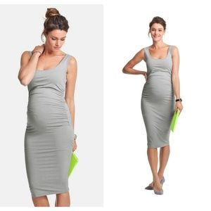 Isabella Oliver Ellis Tank Ruched Maternity Dress